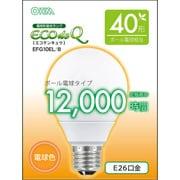 EFG10EL/8 [電球形蛍光灯 エコデンキュウ 40W形 E26 電球色 G形]