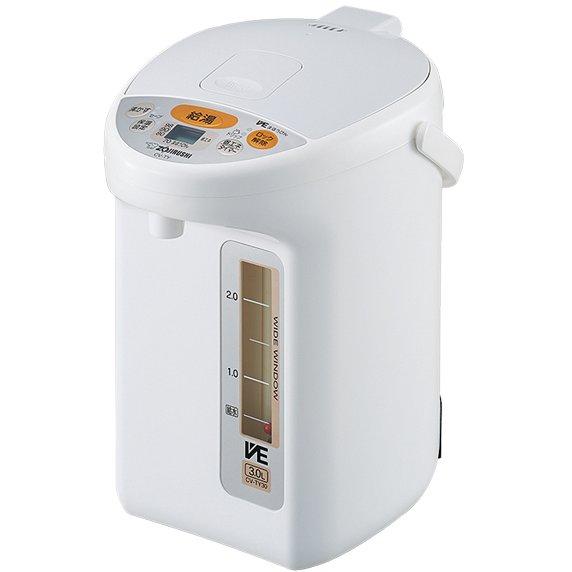 CV-TY30-WA [マイコン沸とう VE電気まほうびん 優湯生 3.0L]