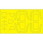 スピットファイア Mk.IX 塗装マスクシート (エデュアルド用) [1/72 マスクシートシリーズ 2019年9月再生産]