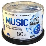 HDSCR80GMP50 [音楽用CD-R 50枚 スピンドル]