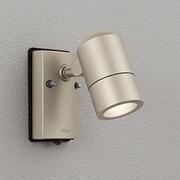 OG254483LD [防雨型 LEDエクステリアスポットライト 電球色 白熱灯灯50W相当 人感センサ付 マットウォームシルバー]