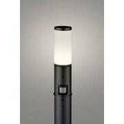 OG254655LC [LEDガーデンライト 電球色 白熱灯60W相当 ねじ込式 防雨型 人感センサー付き 地上高700]
