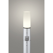 OG254664LC [LEDガーデンライト 電球色 白熱灯60W相当 ねじ込式 防雨型 人感センサ付 地上高700]