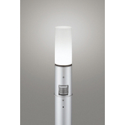 OG254664NC [LEDガーデンライト 昼白色 白熱灯60W相当 ねじ込式 防雨型 人感センサ付 地上高700]
