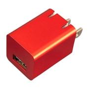 BAC1U10SRD [プレミアムシリーズ AC充電器 USB1ポート 1.0A レッド]