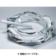 クリスタルガラス灰皿 ヘキサゴンカット