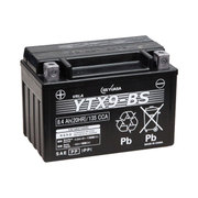 YTX9-BS GSユアサバッテリー [バイク用バッテリー 電解液注入済]