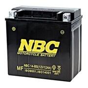 NBC 14-BS [バイク用バッテリー 電解液注入済]