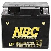 NBC 4L-BS [バイク用バッテリー 電解液注入済]