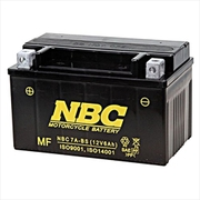 NBC 7A-BS [バイク用バッテリー 電解液注入済]