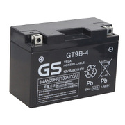 GT9B-4 台湾GS [バイク用バッテリー 電解液注入済]