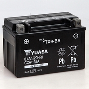 YTX9-BS 台湾ユアサ [バイク用バッテリー 電解液注入済]