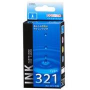 INK-C321B-C [キヤノン 互換インク 321 C シアン]