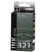 INK-C321B-BK [キヤノン 互換インク 321 BK ブラック]