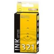 INK-C321B-Y [キヤノン 互換インク 321 Y イエロー]