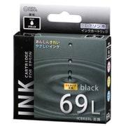 INK-E69LB-BK [エプソン 互換インク 69L BK ブラック]
