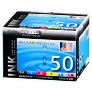 INK-E50-6PNB [エプソン 互換インク 50 6P]