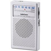 RAD-P326S-S [AM専用 ポケットラジオ シルバー 単四2本使用]