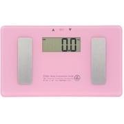 HB-K120-P [ミニ体重体組成計 CR2032 ボタン電池二個使用 ピンク]