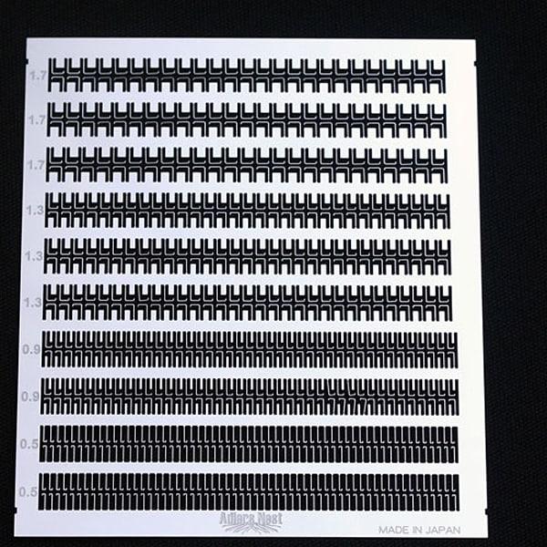 ANN-0031 [ANNシリーズ No.31 モンキーラッタル用エッチングフック SET]