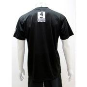 スポーツTシャツ ハイキュー!! 木兎柄1 Lサイズ 40.ブラック [キャラクター衣料]