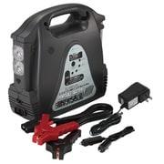 SG-3500LED [5WAYシステム電源 大容量ポータブルバッテリー AC100V×1 DC12Vソケット×1 USBポート×1 LEDライト(最大400時間) セルブースト機能]