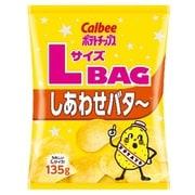 カルビー ポテトチップス しあわせバタ~ 135g [菓子 1袋]