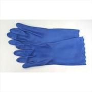 DA-31 [ビニール手袋 サーモ発泡 Lサイズ ブルー]