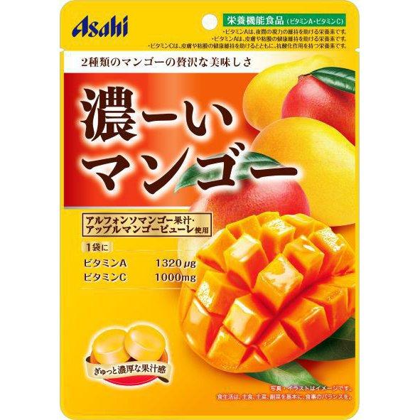 アサヒ 濃ーいマンゴー 88g [菓子 1袋]
