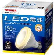 LDR12L-W/150W [LED電球ビームランプ形 150W形 E26口金 電球色 ビーム角30度]