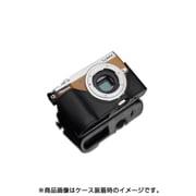 XS-CHGX7MK2BK [パナソニック DMC-GX7Mark2用 本革カメラハーフケース ブラック]