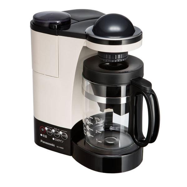 NC-R400-C [ミル付き 浄水 コーヒーメーカー カフェオレ]