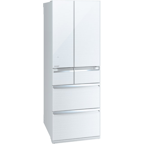 MR-WX52A-W [冷蔵庫 WXシリーズ (517L・フレンチドア) 6ドア クリスタルホワイト]