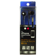BSE01BK [iPhone/スマートフォン用 ステレオイヤホン ブラック]