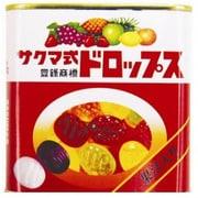 佐久間製菓 サクマ式缶ドロップス 75g [菓子 1缶]
