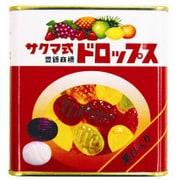 佐久間製菓 サクマ式缶ドロップス 115g [菓子 1缶]