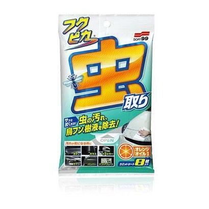 04119 [フクピカ 虫・フン取りシート 強化8枚入]