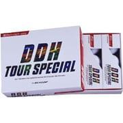 ゴルフボール DDH TOUR SPECIAL(DDH ツアースペシャル) ホワイト [1ダース 12球入]