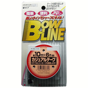 BL-112 [ボウ・ライン カジュアルテープ 幅10mm×巻6m ブラック]