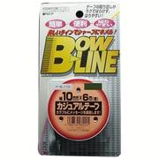 BL-116 [ボウ・ライン カジュアルテープ 幅10mm×巻6m シルバー]