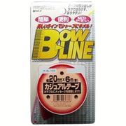 BL-123 [ボウ・ライン カジュアルテープ 幅20mm×巻6m レッド]
