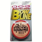 BL-132 [ボウ・ライン カジュアルテープ 幅3mm×巻10m ブラック]