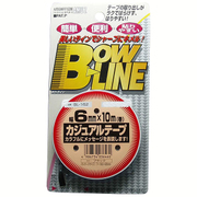 BL-162 [ボウ・ライン カジュアルテープ 幅6mm×巻10m ブラック]