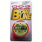 BL-224 [ボウ・ライン 蛍光テープ 幅20mm×巻1.5m ピンク]