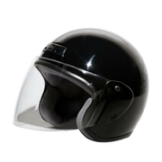 7201 [ジェットヘルメット ブラック KC-350]