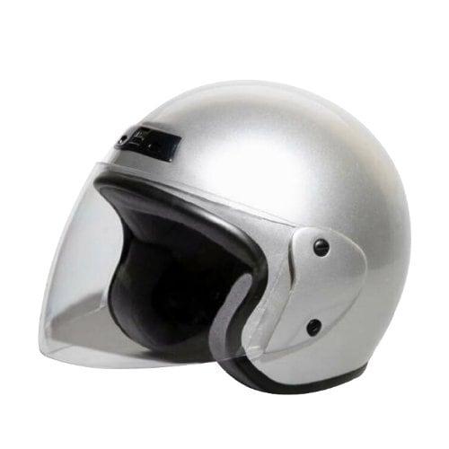 7202 [ジェットヘルメット シルバーメタリック KC-350]