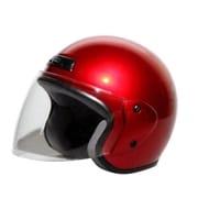 7204 [ジェットヘルメット レッド KC-350]