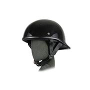 7222 [ロングテールダックテールヘルメット ブラック A-221 57~60cm未満]