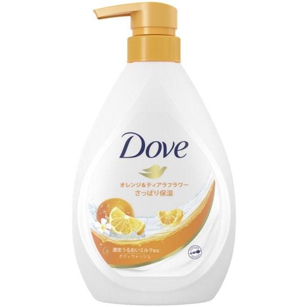 Dove(ダヴ) ボディウォッシュ さっぱり保湿 オレンジ&ティアラフラワー 本体 500g [ボディソープ]