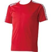ARN6331-RED-S [チームラインTシャツ ユニセックス Sサイズ レッド]